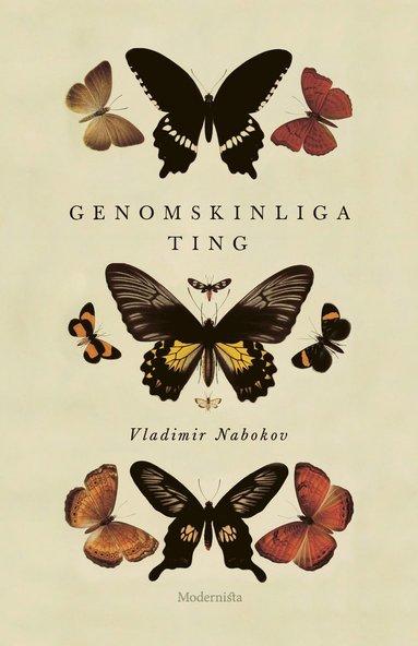 bokomslag Genomskinliga ting