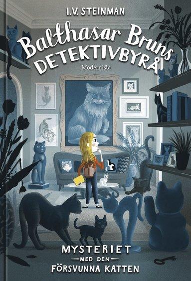 bokomslag Balthasar Bruns detektivbyrå. Mysteriet med den försvunna katten