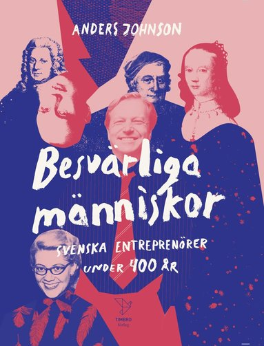 bokomslag Besvärliga människor : Svenska entreprenörer under 400 år