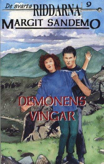bokomslag Demonens vingar Hft 9 Svarta Riddarna