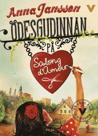 bokomslag Ödesgudinnan på Salong d'Amour (lättläst)