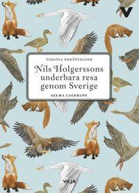 bokomslag Nils Holgerssons underbara resa (lättläst, CD + bok)