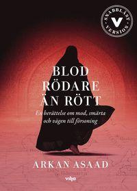 bokomslag Blod rödare än rött : en berättelse om mod, smärta och vägen till försoning (lättläst)
