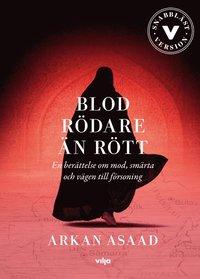 bokomslag Blod rödare än rött : en berättelse om mod, smärta och vägen till försoning (lättläst) (CD + bok)