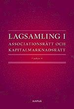 Lagsamling i associationsrätt och kapitalmarknadsrätt 1