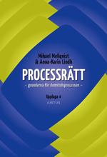 bokomslag Processrätt : grunderna för domstolsprocessen