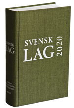 bokomslag Svensk lag 2020