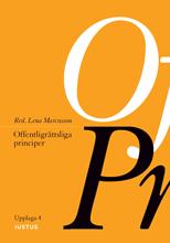 bokomslag Offentligrättsliga principer