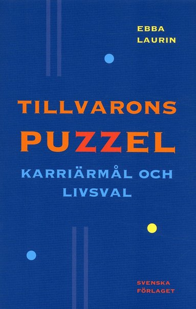 bokomslag Tillvarons puzzel : karriärmål och livsval