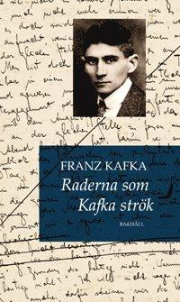 bokomslag Raderna som Kafka strök