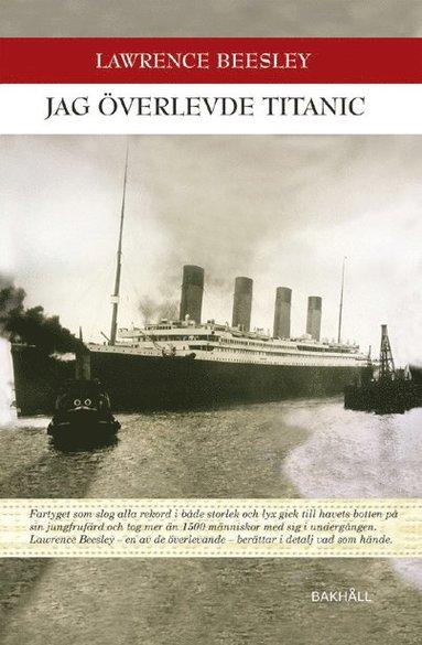 bokomslag Jag överlevde Titanic