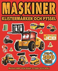 bokomslag Maskiner. Klistermärken och pyssel