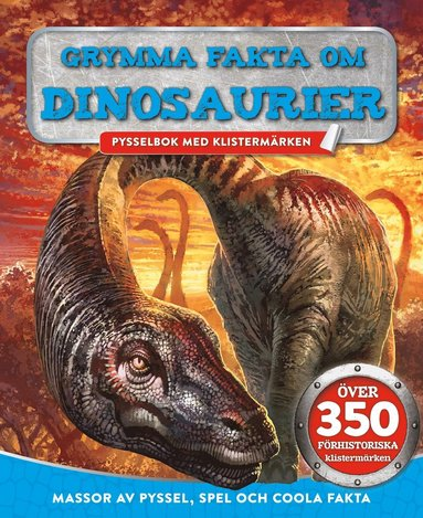 bokomslag Grymma fakta om dinosaurier