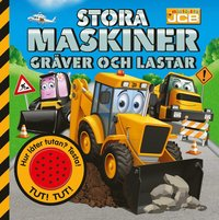 bokomslag Stora maskiner gräver och lastar – med ljudknapp