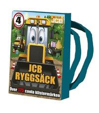 bokomslag JCB ryggsäck : innehåller 4 pysselböcker och kritor - över 175 coola klistermärken