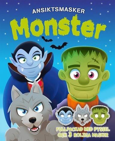 bokomslag Monster : ansiktsmasker