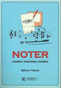 bokomslag Noter - Handbok i traditionell notering
