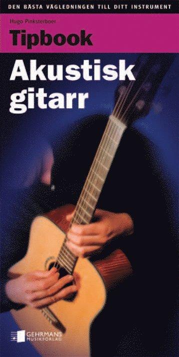bokomslag Tipbook, akustisk gitarr