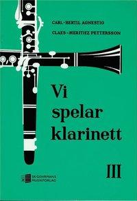 bokomslag Vi spelar klarinett 3