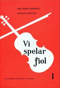 bokomslag Vi spelar fiol 1