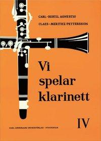bokomslag Vi spelar klarinett 4