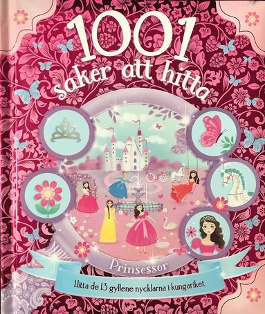 bokomslag 1001 saker att hitta - Prinsessor
