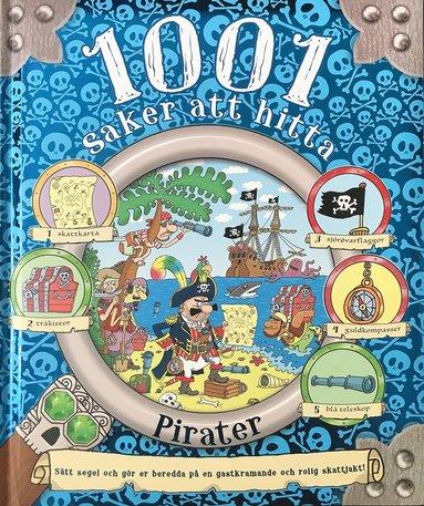 bokomslag 1001 saker att hitta : Pirater