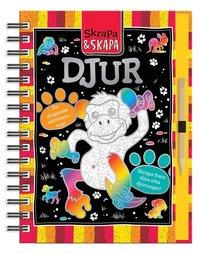 bokomslag Skrapa och skapa - Djur