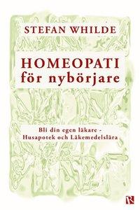 bokomslag Homeopati för nybörjare