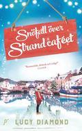 bokomslag Snöfall över strandcaféet