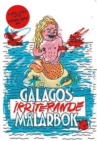 bokomslag Galagos irriterande målarbok