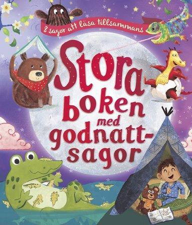 bokomslag Stora boken med godnattsagor : 8 sagor att läsa tillsammans