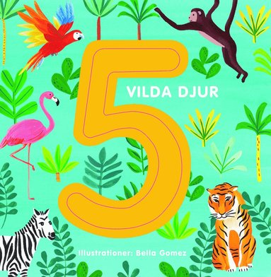 bokomslag 5 vilda djur