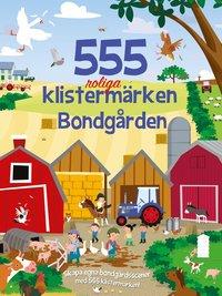 bokomslag 555 roliga klistermärken : bondgården