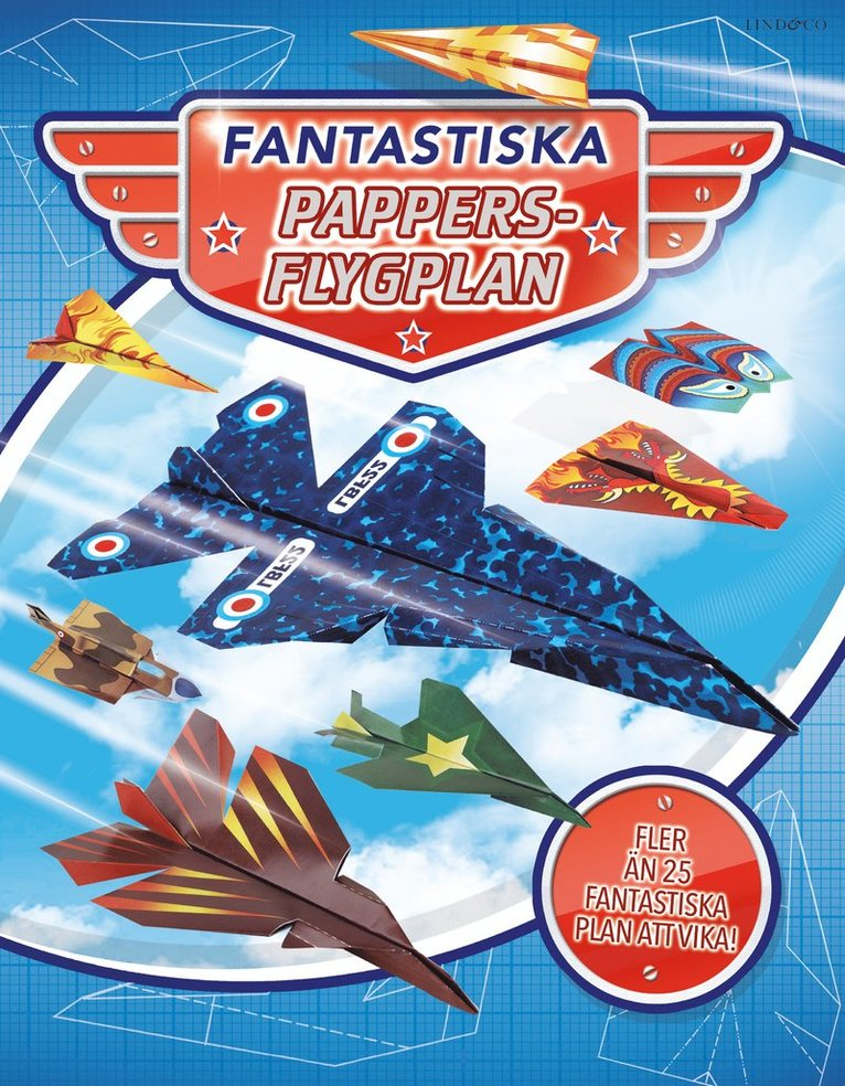 Fantastiska pappersflygplan 1