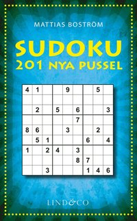 bokomslag Sudoku - 201 nya pussel