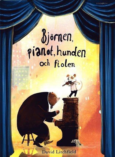 bokomslag Björnen, pianot, hunden och fiolen