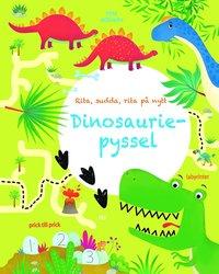 bokomslag Dinosauriepyssel : rita, sudda, rita på nytt