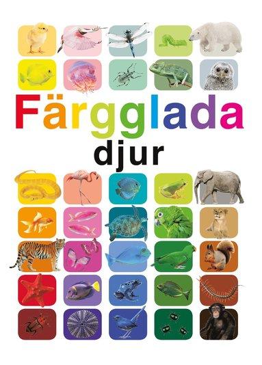 bokomslag Färgglada djur