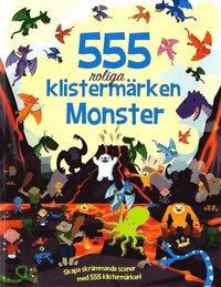 bokomslag 555 klistermärken - Monster