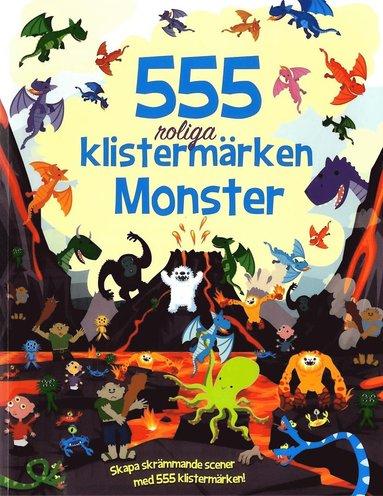 bokomslag 555 klistermärken : Monster