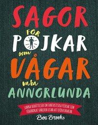 bokomslag Sagor för pojkar som vågar vara annorlunda : Sanna berättelser om fantast