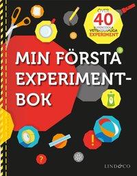 bokomslag Min första experimentbok