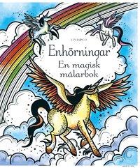 bokomslag Enhörningar - En magisk målarbok