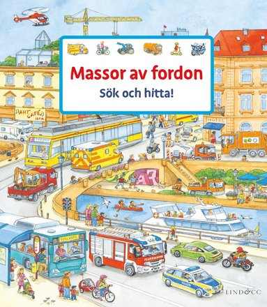 bokomslag Massor av fordon : sök och hitta!