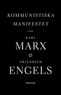 bokomslag Kommunistiska manifestet