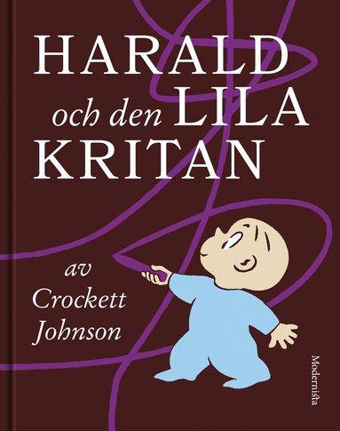 bokomslag Harald och den lila kritan
