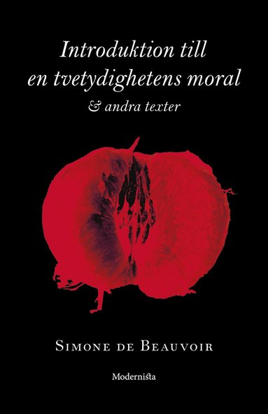 bokomslag Introduktion till en tvetydighetens moral och andra texter