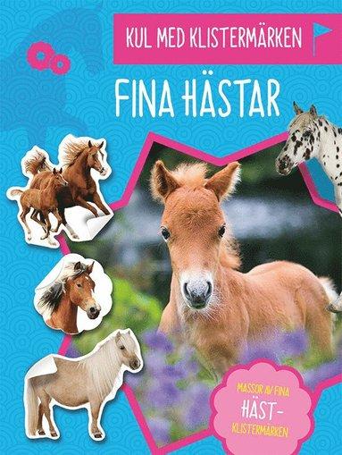 bokomslag Kul med klistermärken : Fina hästar