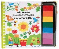 bokomslag Måla med fingeravtryck: i naturen